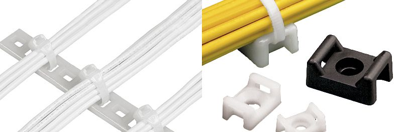 panduit cable & wire ties, mounts & straps wiring harness connector plugs cable tie mount