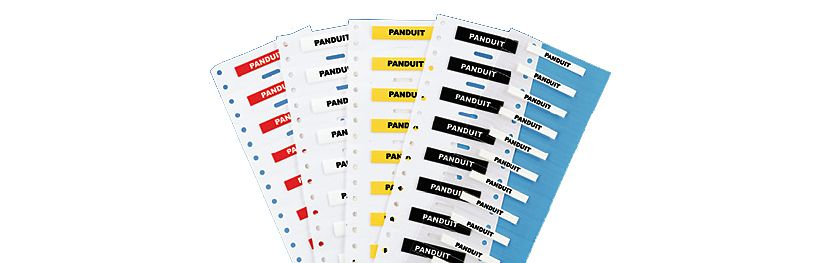 desktop printer labels?$featured category banner$ panduit signs, labels & identification PropertyID Stickers at nearapp.co